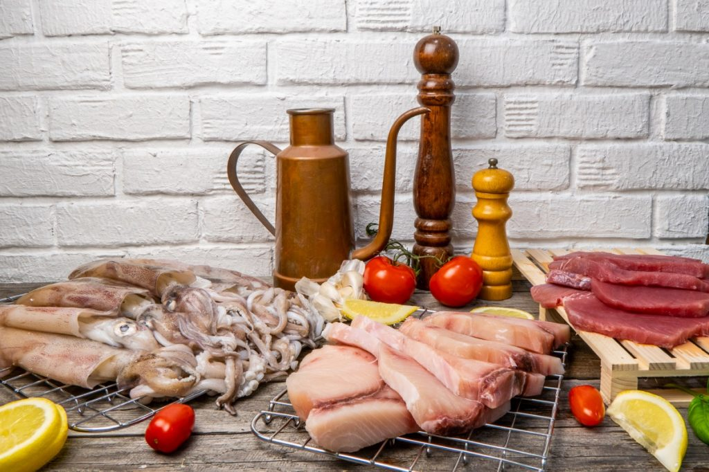 pranzo per 5 pescheria