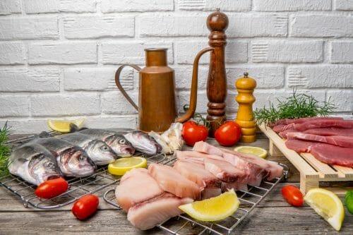 piatto per 5 da cucinare pescheria