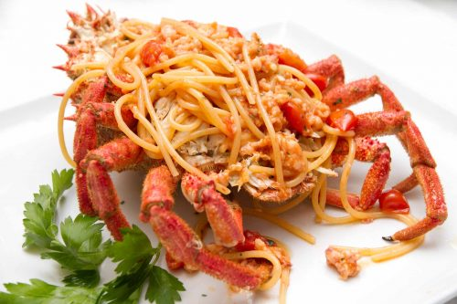 Spaghetti alla Granseola 1